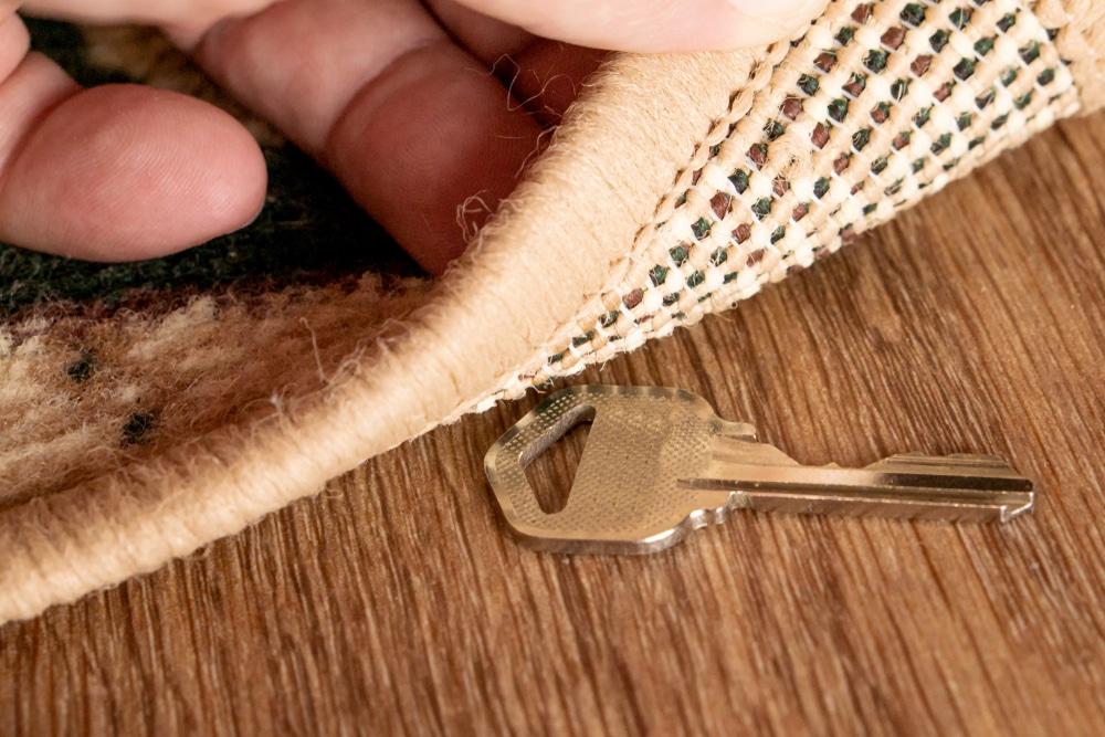 Endroit ou ne pas cacher une clé