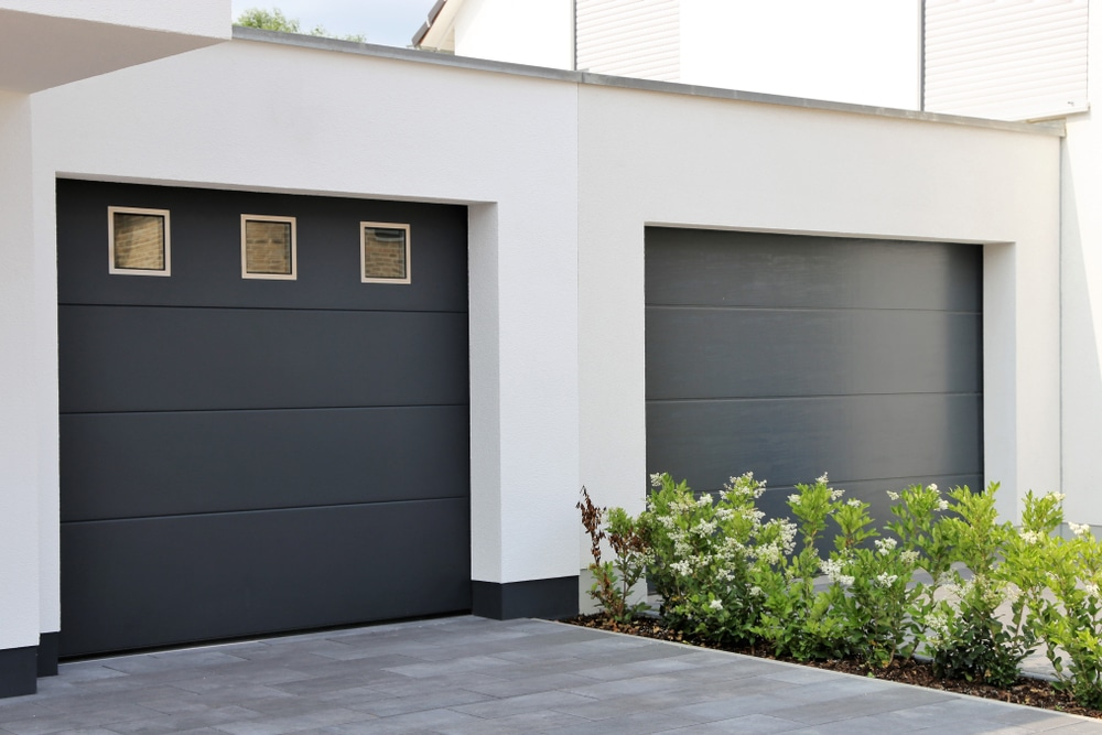 installation porte de garage